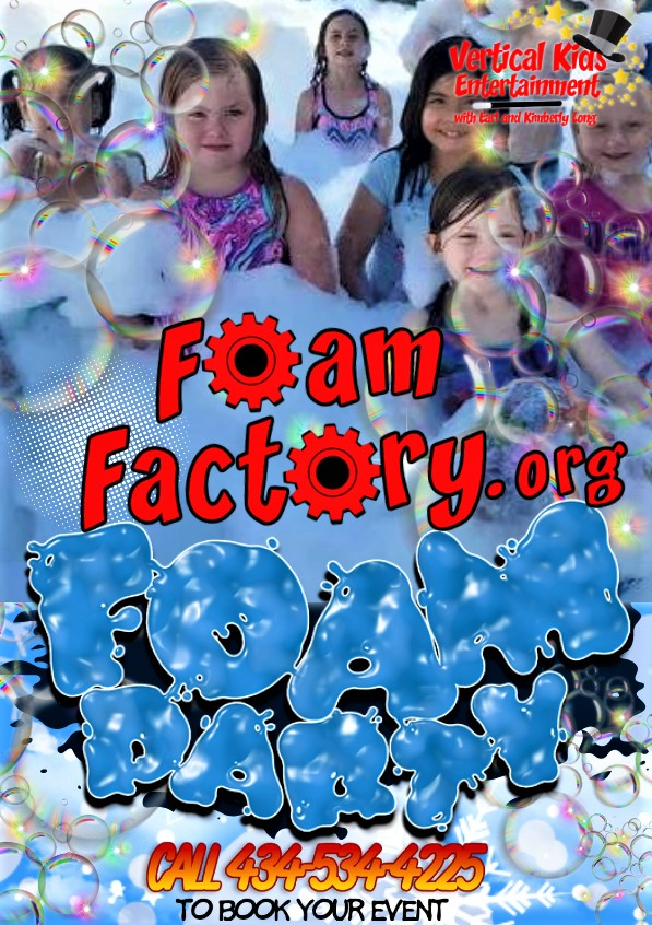 Foam Factory Poster